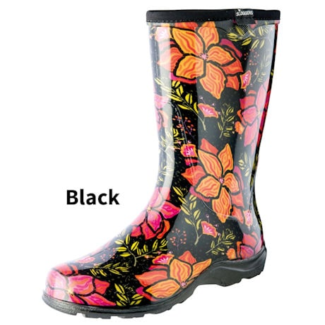 Womens Slogger Garden Boot Spring Surprise