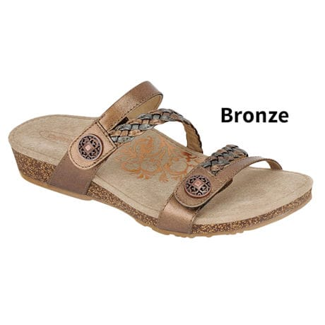 Aetrex® Janey Slide Sandals