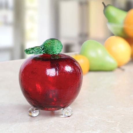 Apple Shaped Fruit Fly Trap