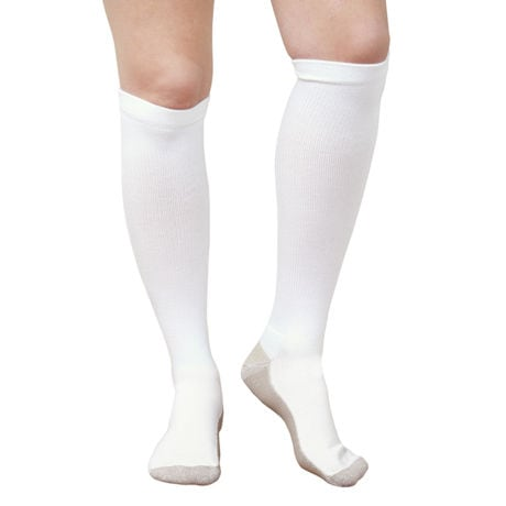 Support Plus® Unisex Opaque Moderate Compression Hydrotech Moisture Wicking Knee High Socks