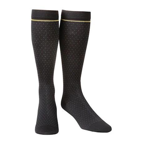 Futuro® Men's Pin Dot Socks, Moderate Compression