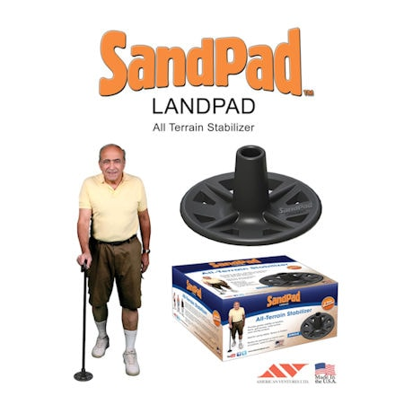 SandPad Replacement Cane Tip - Set of 2