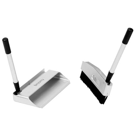Broomy™ Long-Handled Foldable Broom and Dustpan Set