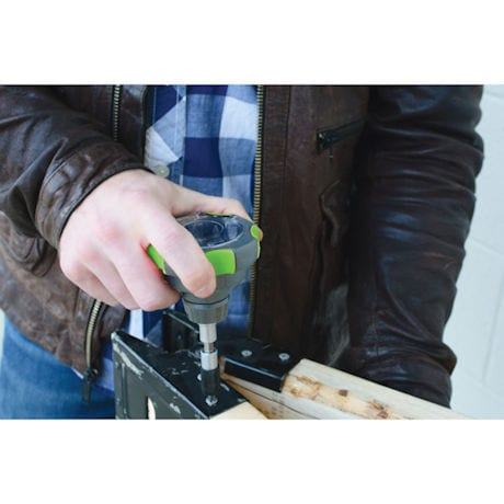 Bob Vila™ Ratcheting Palm Screwdriver