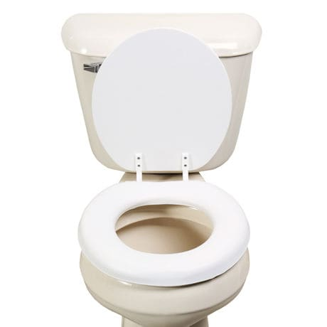 Soft Toilet Seat with Wooden Core