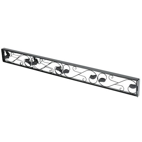Sliding Door Lock Bar - Black