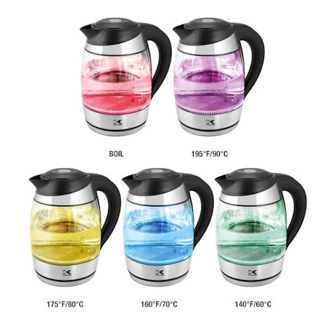 Kalorik® Digital Glass Water Kettle