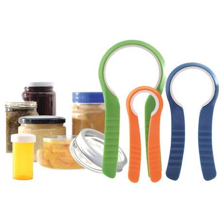 Easy Grip Jar Openers - Set of 3