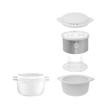 Kalorik® Ceramic Food Steamer