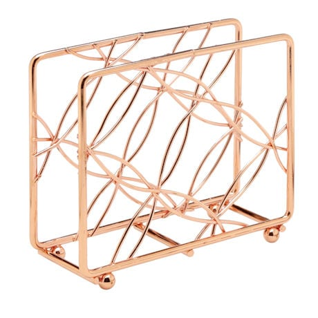 Bright Copper Vertical Napkin Holder