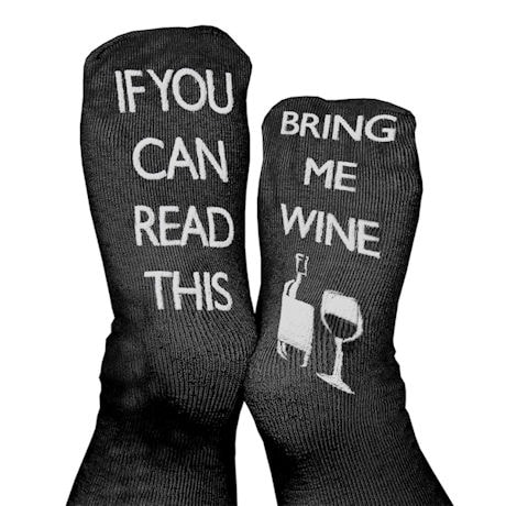 Unisex Bariatric Message Slipper Socks