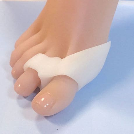 Flexible Gel Double Toe Spreader Bunion Guard