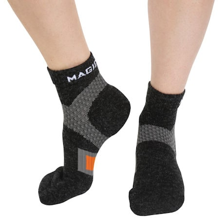 Wool Foot Comfort Unisex Mild Compression Diabetic Quarter Crew Socks