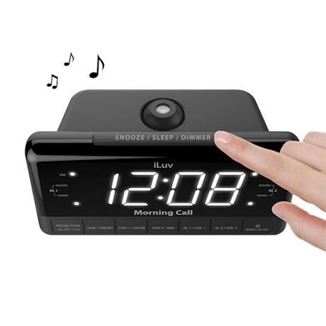 iLuv® Projection Alarm Clock