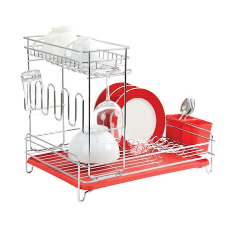 Two Tier Dish Rack