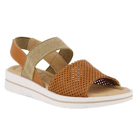 Spring Step® Travel Stretch Leather Sandals