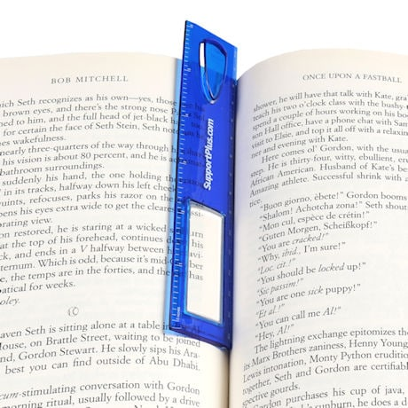 "6"" Magnifying Bookmark"