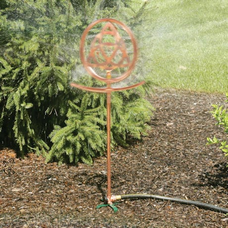 Celtic Knot Garden Sprinkler