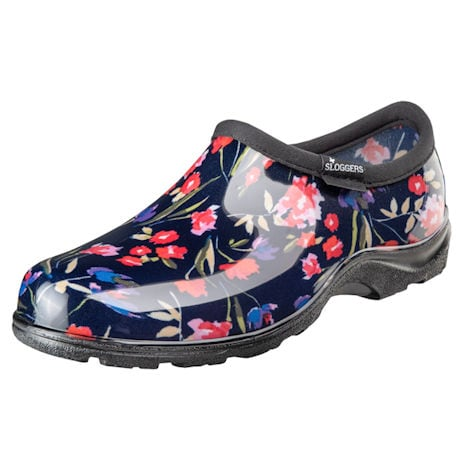Sloggers Comfort Shoe - Blue Floral