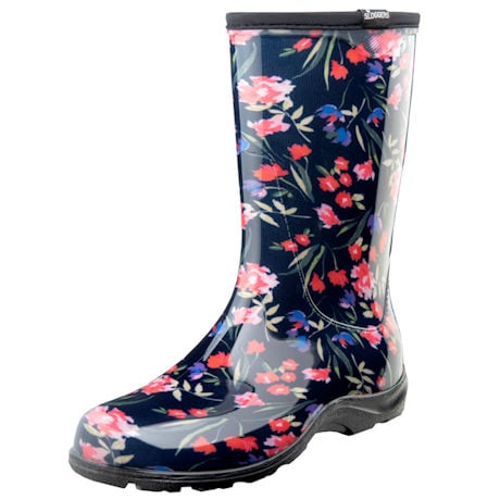 Sloggers Boot - Blue Floral