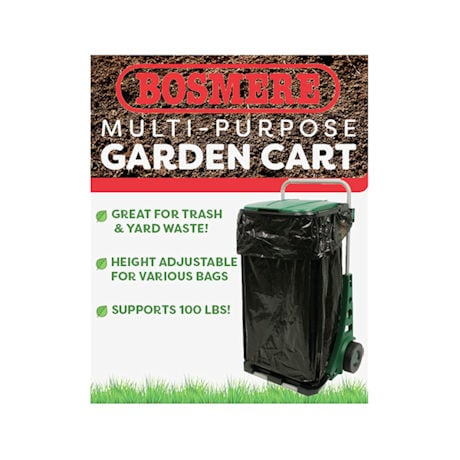 All Purpose Garden Cart with Wheels