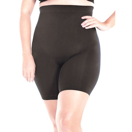 Rhonda Shear® High Waist Smoothing Lightweight Longline Shorts