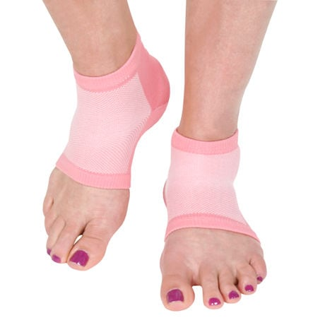 Night Care Moisturizing Unisex Heel Socks