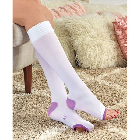 Women's Mild Compression Anti-Embolism Knee-High Socks
