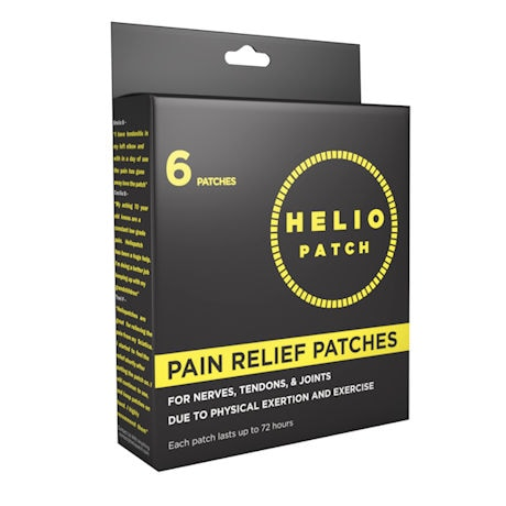 Helio Pain Relief Patches - 6 Pack