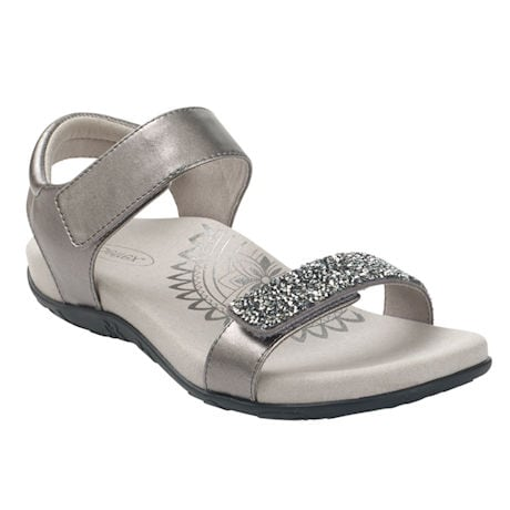 Aetrex Maria Jeweled Sandal