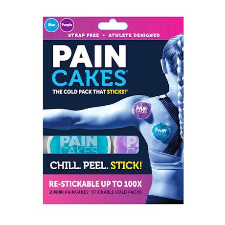 Paincakes® Mini Peel-and-Stick Cold Pack - 2 Pack