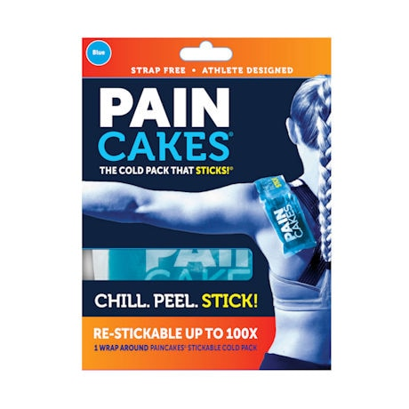 Paincakes® Peel-and-Stick Cold Pack Wrap