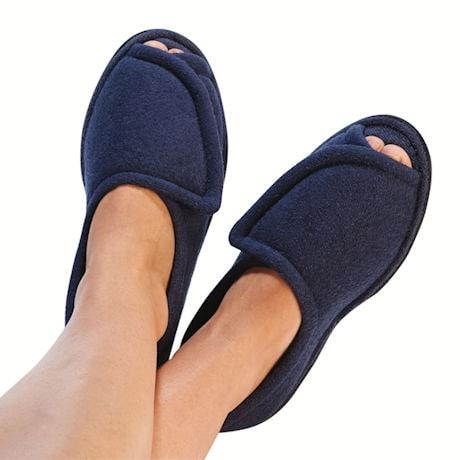 Women's Terry Cloth Comfort Slippers