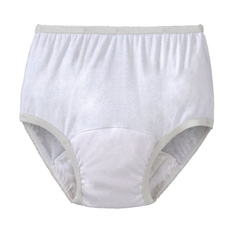Women's Incontinence Panties, Single - White