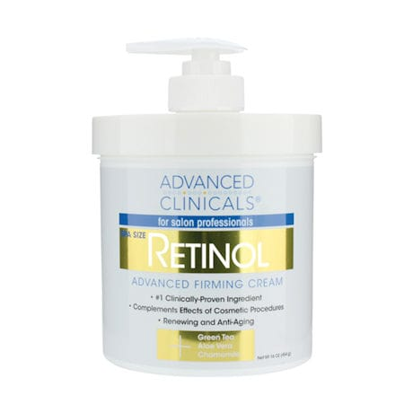 Advanced Clinicals® Retinol Firming Cream