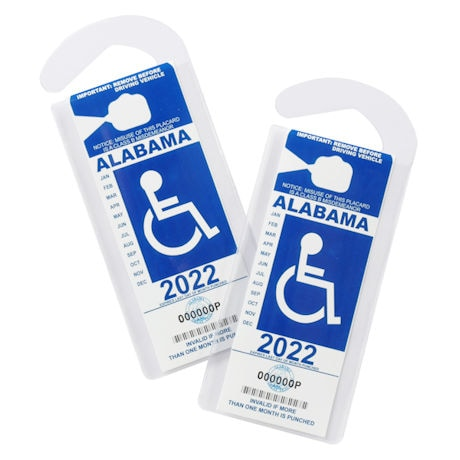 Handicap Placard Protector  - Set of 2