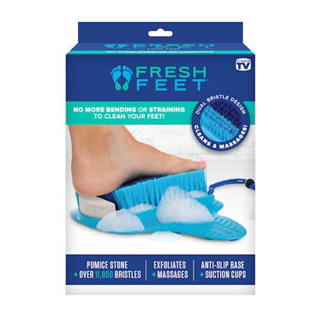 Fresh Feet Cleaning and Exfoliating Foot Scrubber