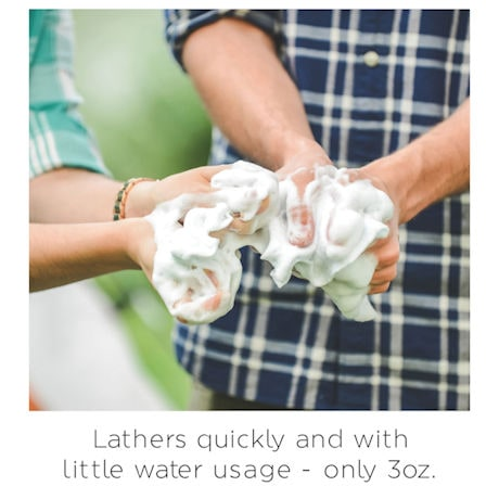 Scrubzz Rinse-Free Bath Sponges