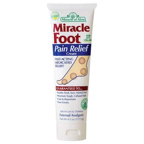 Miracle Foot Pain Relief with UltraAloe Gel
