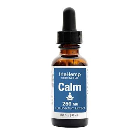 IrieHemp Calm Tincture - 250mg