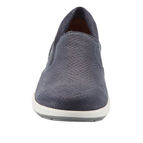 The Walking Cradle® Orleans Snake Print Slip-On Sneaker