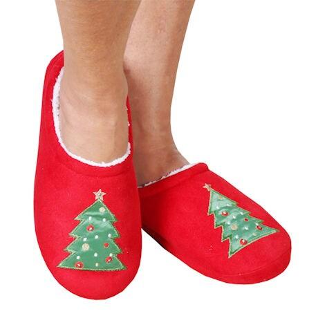 LED Christmas Slippers