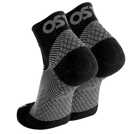 Unisex Firm Compression Orthotic Quarter Crew or No Show Socks