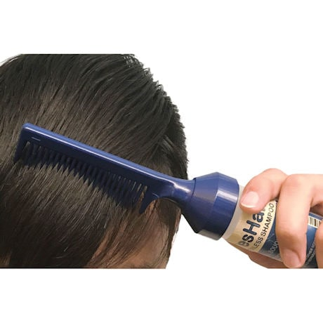 FresHair Waterless Shampoo Comb and Refill