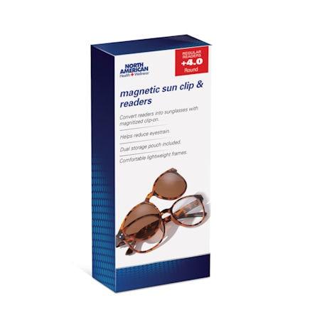 Magnetic Sun-Clip Readers