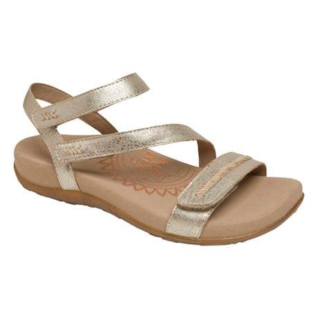 Aetrex® Gabby Adjustable Sandal