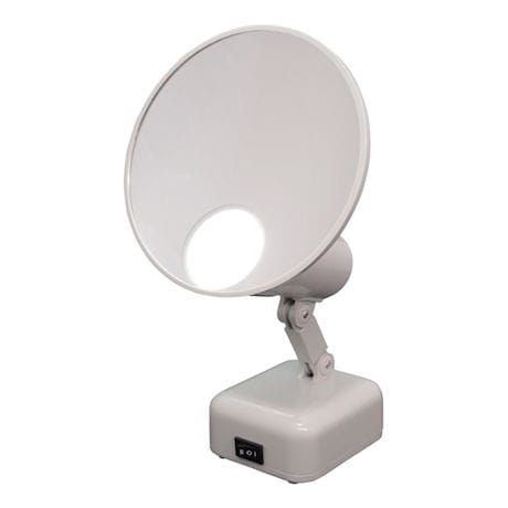 15X Lighted Magnifying Mirror