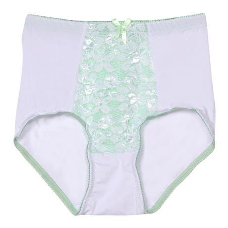 Lace Briefs with Tummy Control - Set of 3