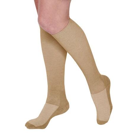 Coolmax® Unisex Mild Compression Knee High Socks