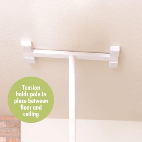 Floor-to-Ceiling Grab Bar